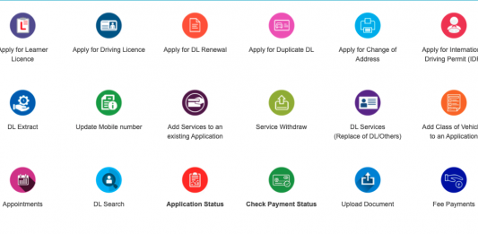 Apply Update Online Driving Licence