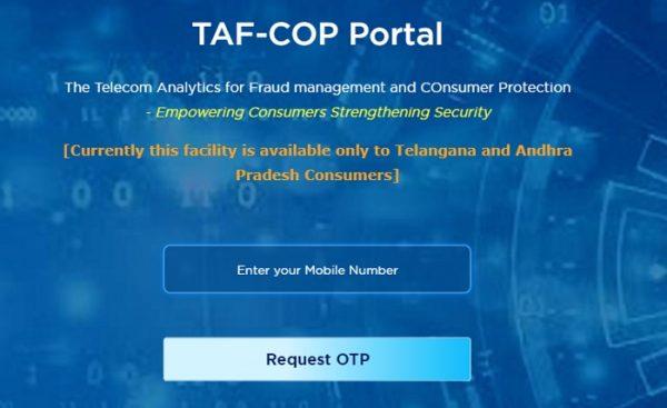 TAF COP Portal