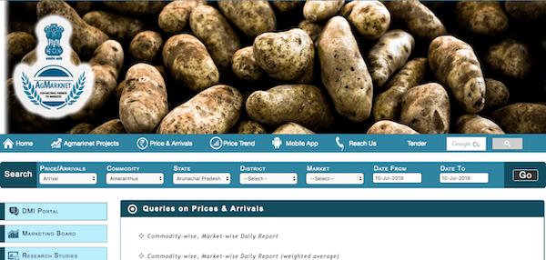 Agmark Mandi Price Commodity