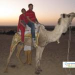 Camel Ride : Ashish and Shweta