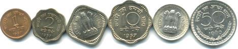Decimal coins of India