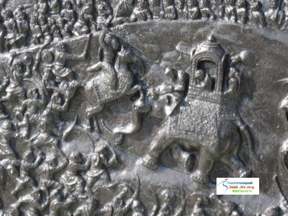 Elephant attacking Maharana Pratap