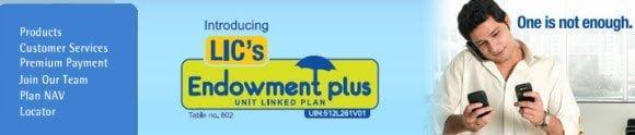 Endowment Plus LIC