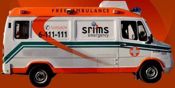 Free Ambulance Facility in Gurgaon