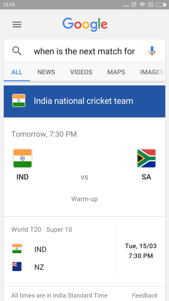 Google Now T20 Cricket (1)