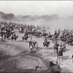 The Grand Trunk Road , built by Sher Shah Suri, was the main trade route from Calcutta to Kabul