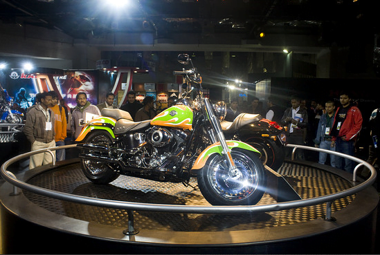 Harley Davidson Fatboy tricolor