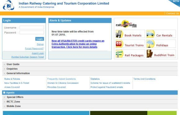 IRCTC to launch new planner for online railway booking