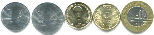 New Coins of India