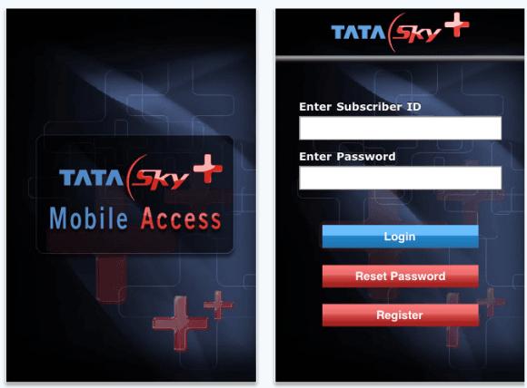 Tata Sky iPhone App