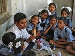 Teacher in Rural School