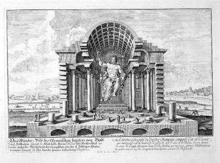 The Statue of Olympian Zeus , Greece