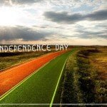 Tricoclor Road Free Independence Day Theme for Windows 7