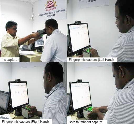 UID Registration Biometric Scans