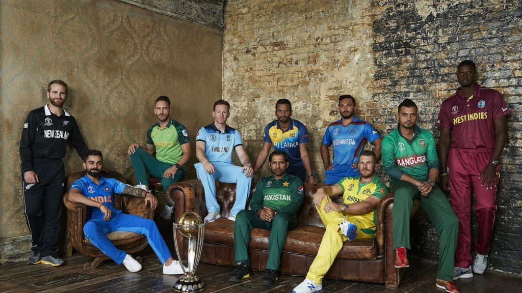 World Cup Cricket Captains