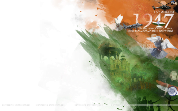 Independence Day : Tri colour mix