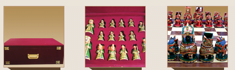 Woodcraft chess set