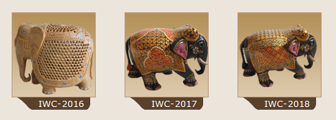 Woodcraft Elephants